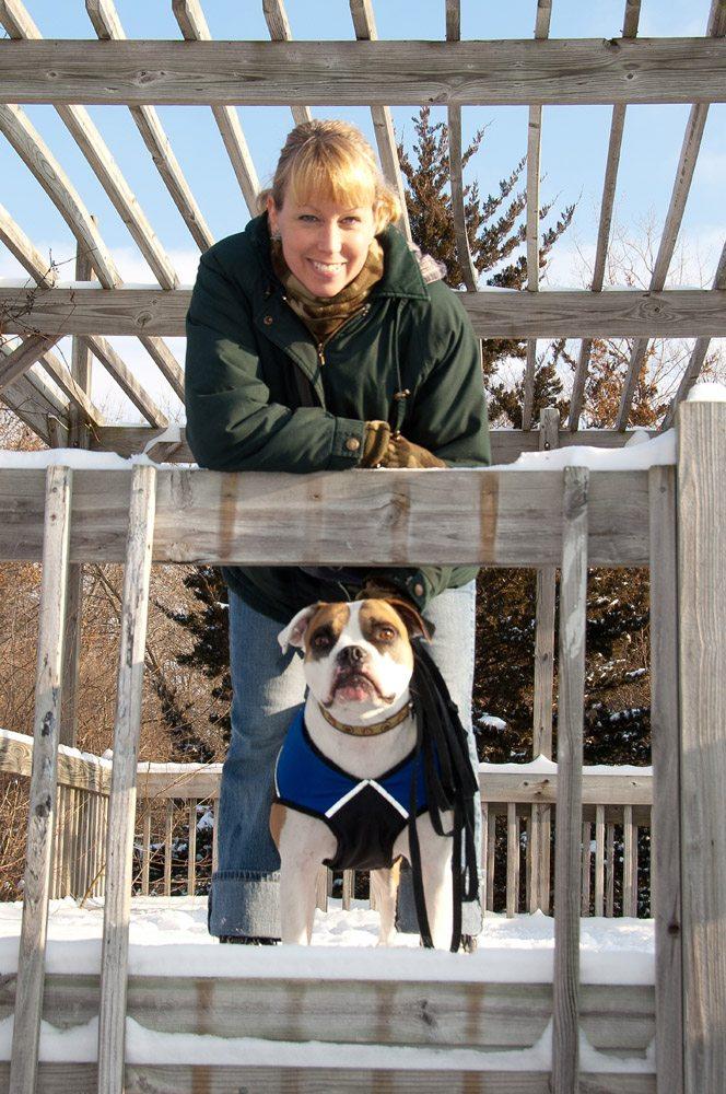 Deb and Ludo Winter Dog Camp